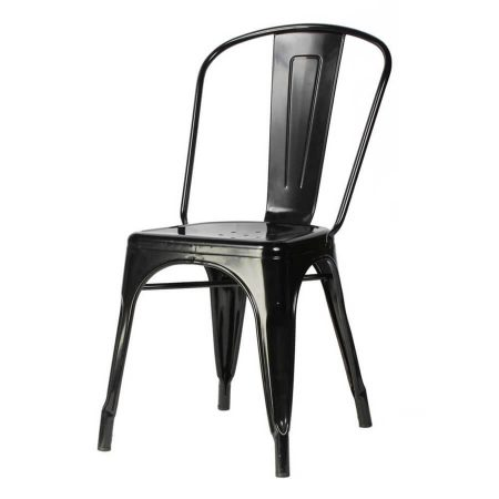 Hire Tolix chair in Black