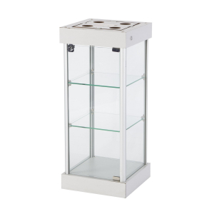 CT61 counter top display case hire