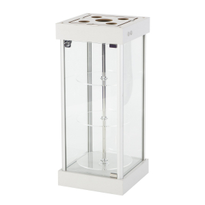 CT62 counter top rotating display case hire