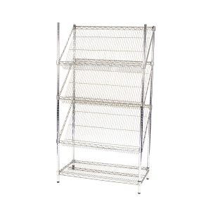 DP58 large chrome literature rack hire