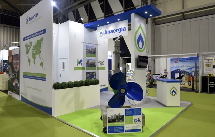 6m x 5m exhibition stand at UK AD & Biogas