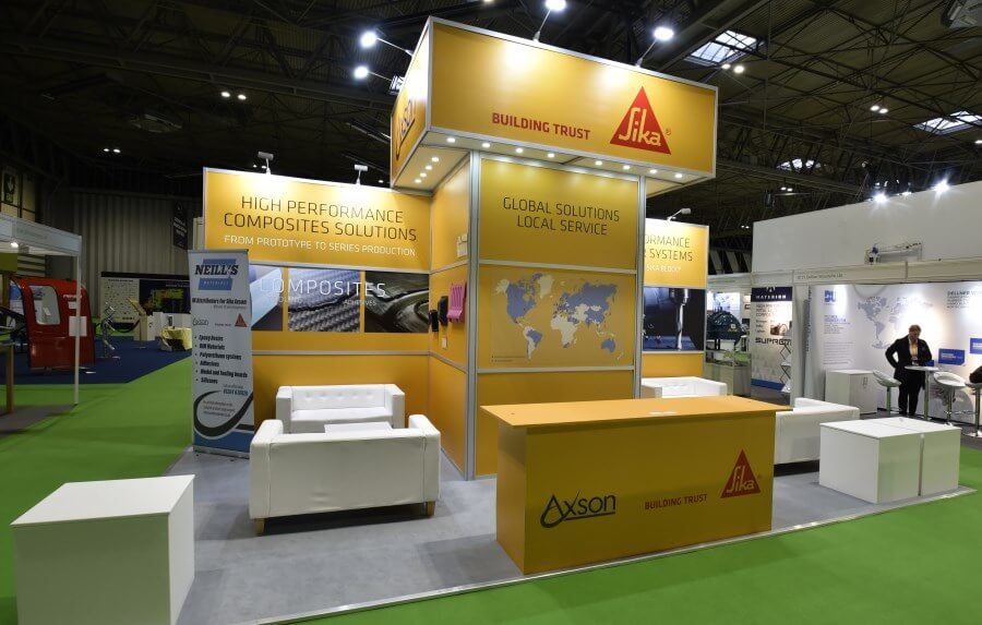 7m x 4m exhibition stand at Advanced Engineering
