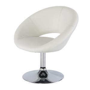 CH62 Moon chair hire - White