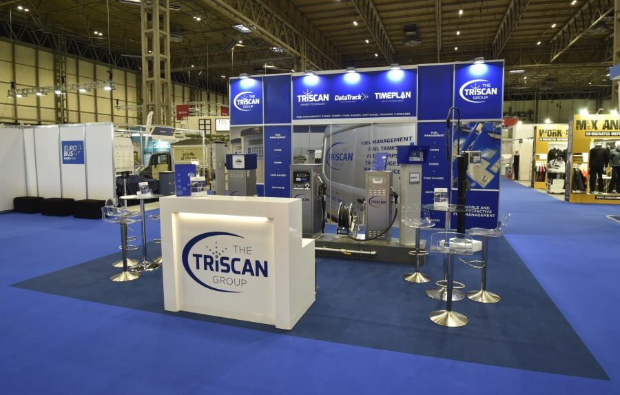 6.5m x 6m exhibition stand at Eurobus