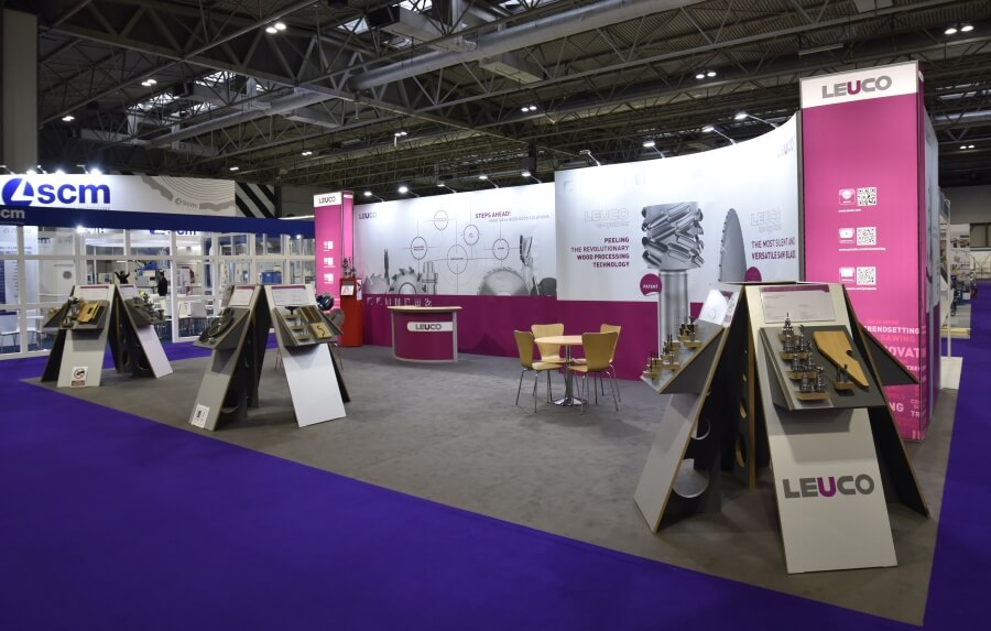 12m x 6m exhibition stand hire