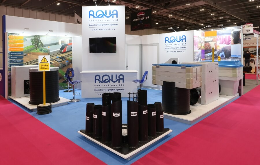6m x 6m exhibition stand hire