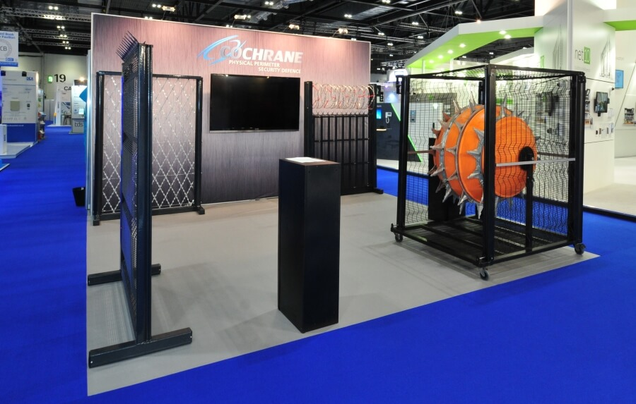 5m x 5m exhibition stand hire