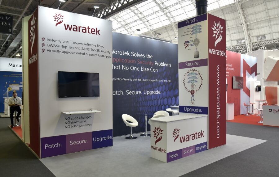 6m x 4m exhibition stand hire