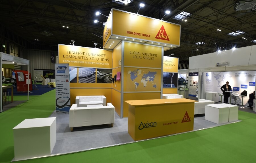 7m x 4m exhibition stand hire