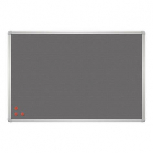 Magnetic pin board with Silver frame