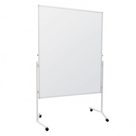 Mobile folding whiteboard
