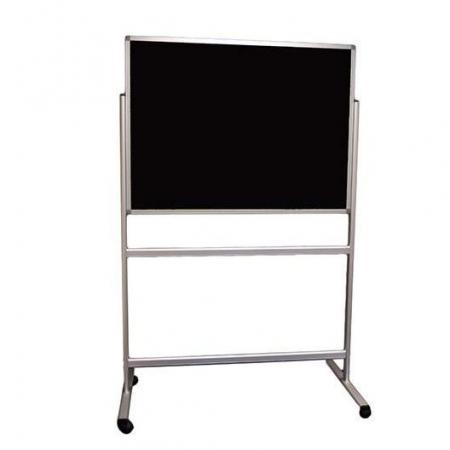 Portable Charles Twite notice board - Black