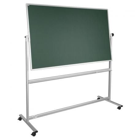 Portable magnetic chalkboard notice board