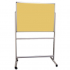 Portable Polycolour notice board - Caramel