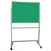 Portable Polycolour notice board - Green