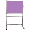 Portable Polycolour notice board - Heather