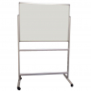 Portable Polycolour notice board - Light Grey