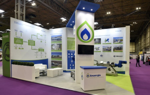 7m x 5m exhibition stand at RWM