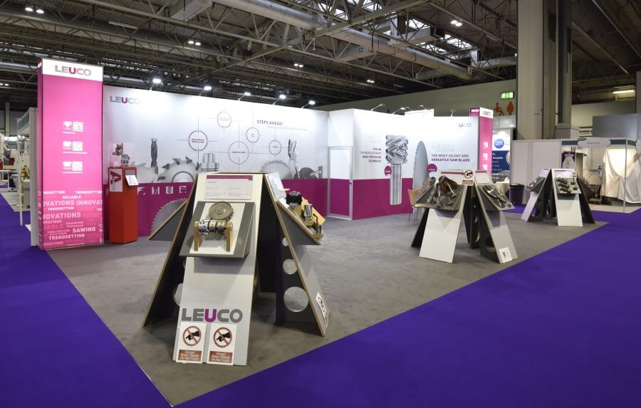 12m x 6m exhibition stand at W18