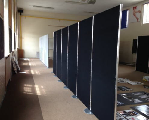 2100mm x 900mm - Portrait display boards