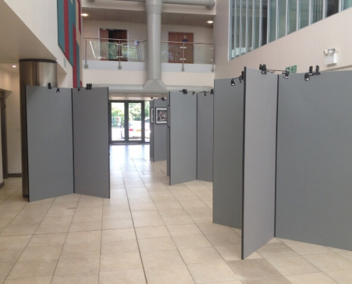 2m x 1m - Cross Layout Display Boards