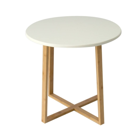 CF09 Kenstal round low coffee table hire