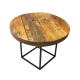 CF14 Concept round coffee table hire