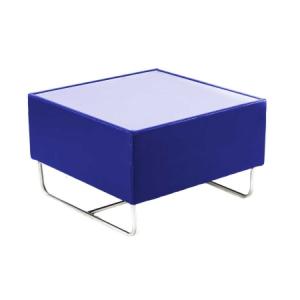 CF27 Coronet coffee table hire - Blue