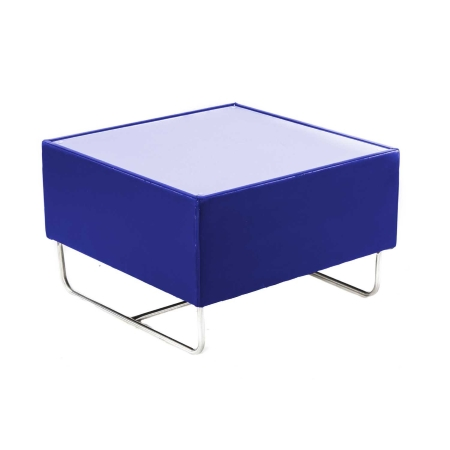CF27 Coronet coffee table hire - Blue
