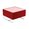 CF27 Coronet coffee table hire - Red