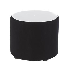 CF31 Drum coffee table hire - Black