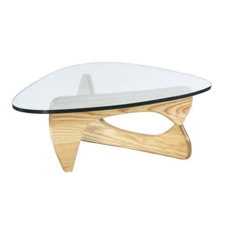 DE01 Noguchi coffee table hire - Natural