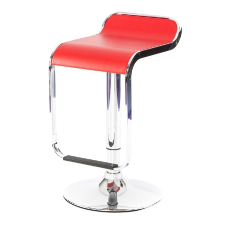 DE44 Sleek bar stool - Red
