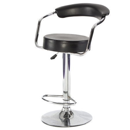 DE46 Comfort stool hire - Black