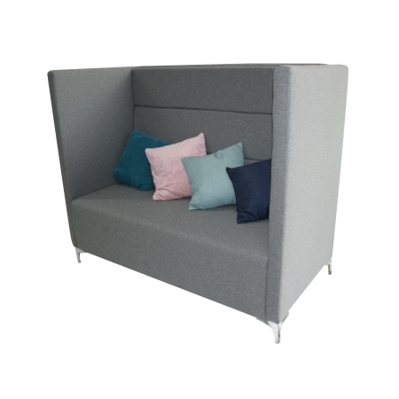 LS76 hush high back sofa