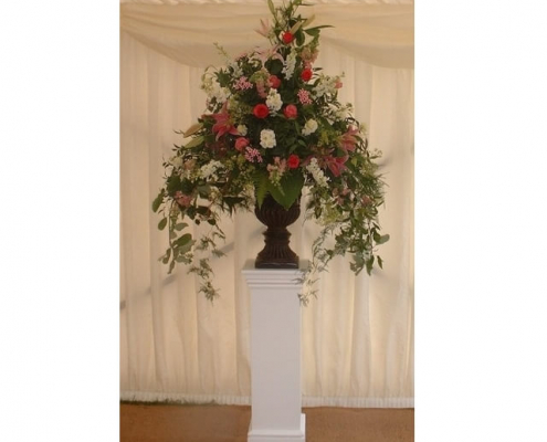 Ornate plinth hire
