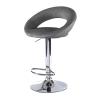 ST18 Moon bar stool hire - Black