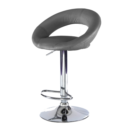 ST18 Moon bar stool hire - Black