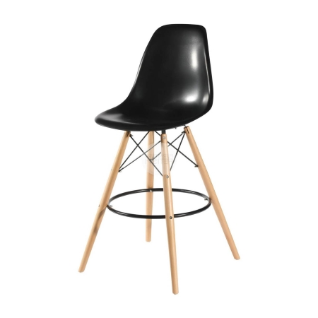 ST19 DSW stool hire - Black