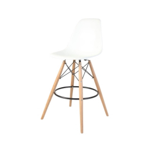 ST19 DSW stool hire - White