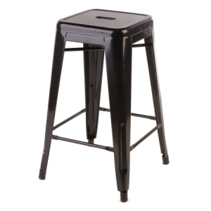ST20 Tolix Black stool hire