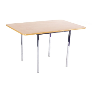 TB05 Soho large bistro table hire - Natural
