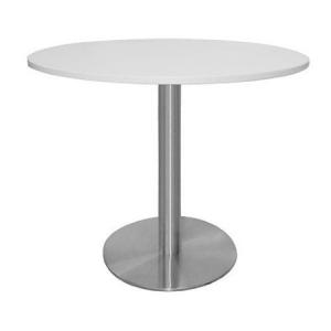 TB17 Satin bistro table hire