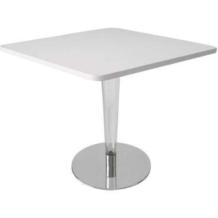 TB52 Louis square bistro table hire