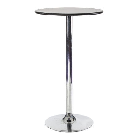 TB61 Bar table hire - Black