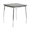 TB76 Milo bistro table hire - Black
