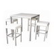 TB84 Corrine high dining table hire