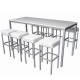 TB85 Large Corrine high dining table hire