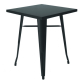 TB86 Tolix bistro table hire