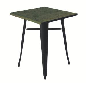 TB87 Tolix vintage bistro table hire